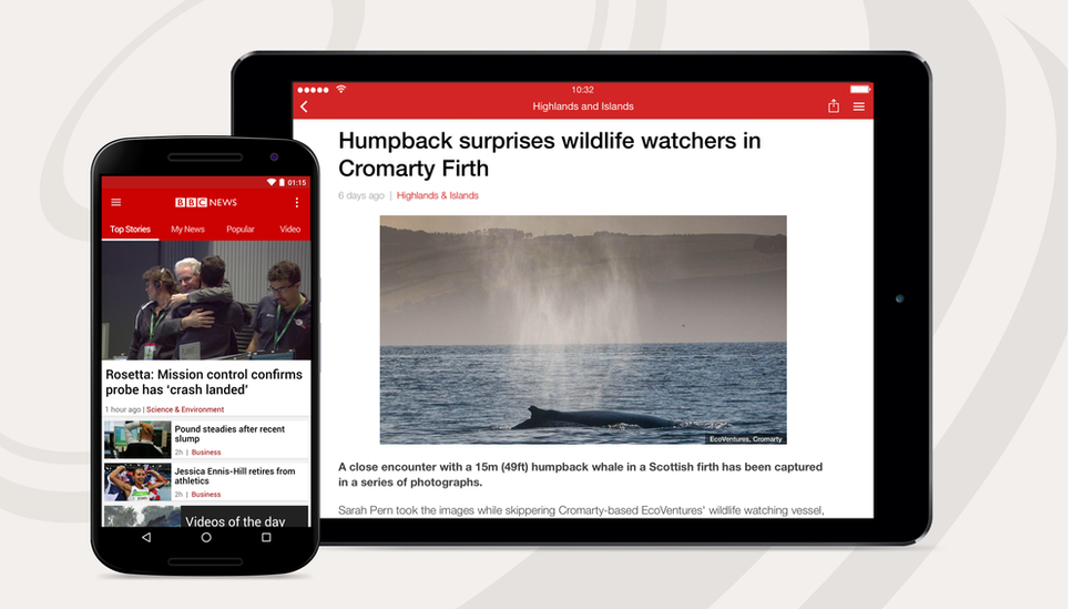 bbc news mobile app
